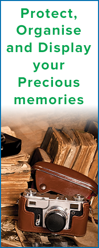 Protect, display and organise your memories