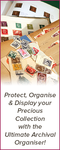 Protect, Organise & Display your Precious Collection