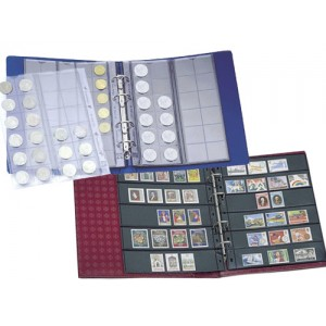 Stamp and Coin Binder Albums