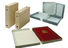 Archival Storage Boxes & Binder Files