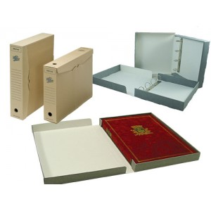File Ring Binder Boxes, Document Holders & Archival Storage Boxes