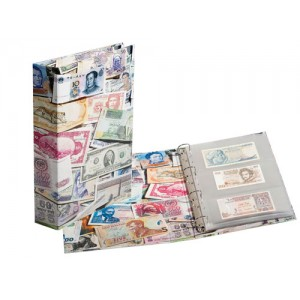 Collectable Banknote Binder Albums