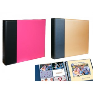 - Scrapbooking Albums and Refill Sleeves -