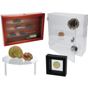 Collectables Display Cases and Cabinets