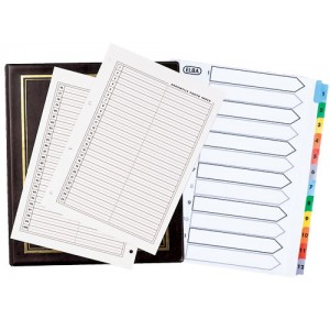 Album Accessories (Labels, Indexes, Dividers)