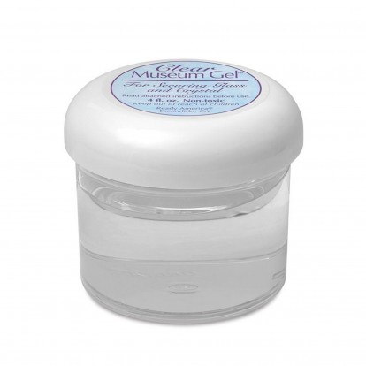 Museum Protective Gel for ornaments & Glassware - Strong Removeable Adhesive Clear tack -115g