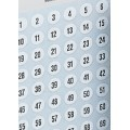 Adhesive Numbers 8mm or 12mm