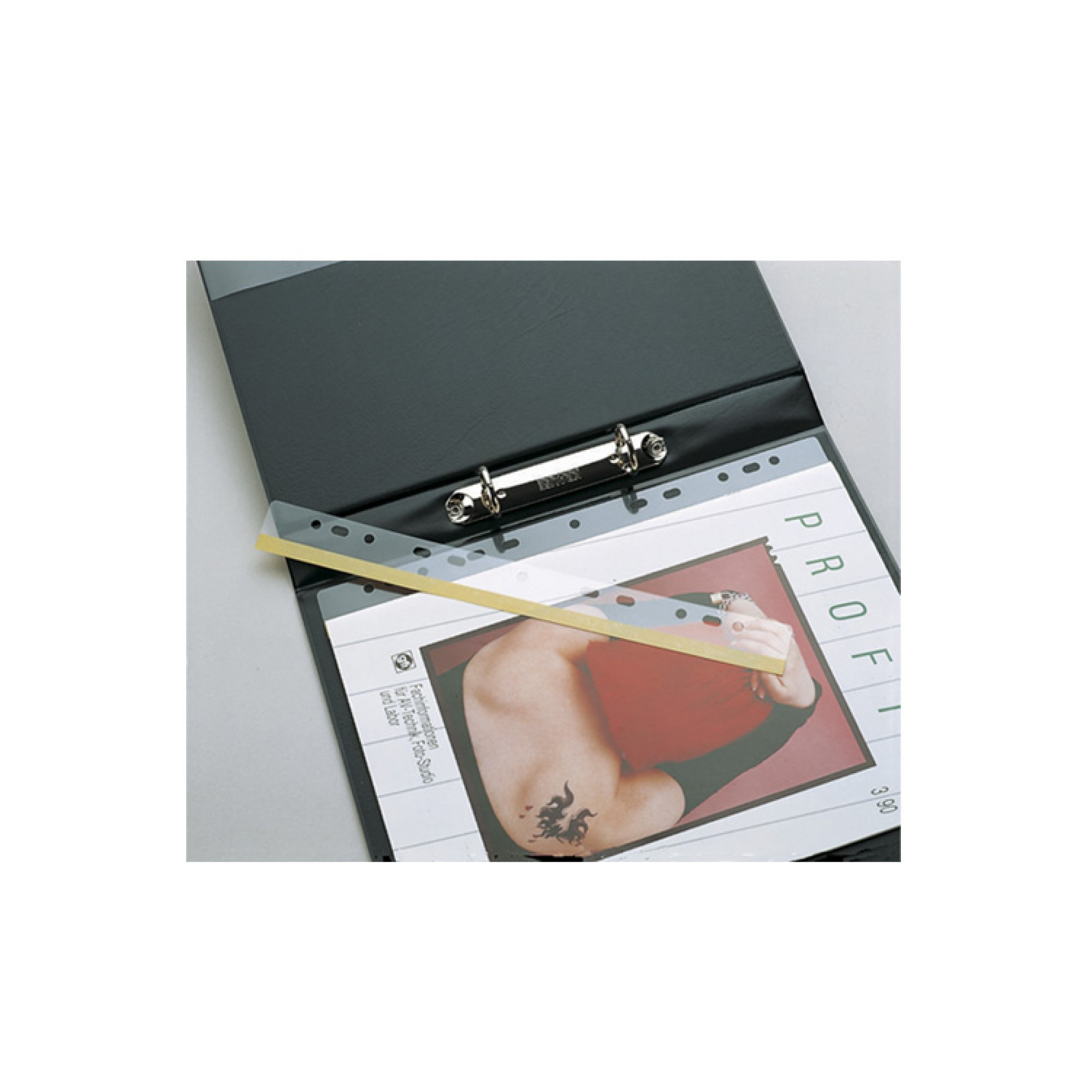 A4 Self Adhesive Smart Punched Hole Strips For Ring Binders