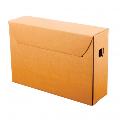 Corrugated Archival Storage Boxes ranging from A4 to A3
