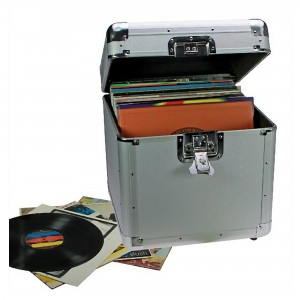 Storage Record Case for Vinyl LPs