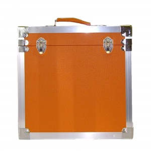 12 inch LP Vinyl Storage Case - Orange