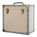 12 inch LP Vinyl Storage Case - Vintage Cream