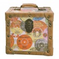 12 inch LP Vinyl Storage Case - Retro