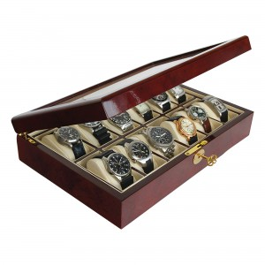Wooden Display Case-Watches & Jewellery