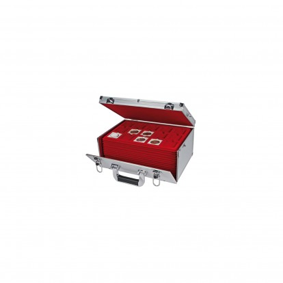Giant Coin Case with 15 red trays