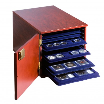 Coin Tray Cabinet Presentation Box without trays
