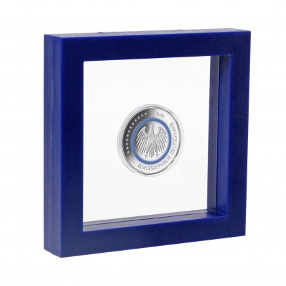 3D Floating Frame - 130x130x25mm -Blue