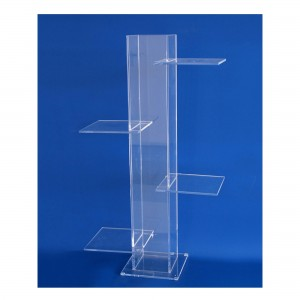 4 Platform Acrylic Display Stand
