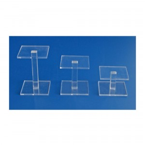 Set of 3 Acrylic Presentation Stands