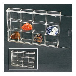 Acrylic 12 Display Case 180mm