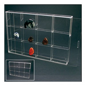 Acrylic 12 Display Case 350mm
