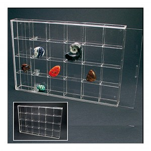 Acrylic 24 Display Case 350mm