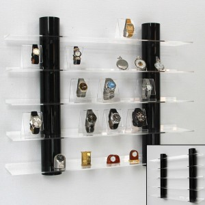Acrylic Display Shelving - Black