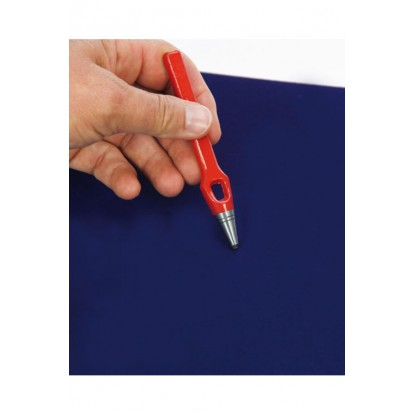 Individual Hole Punch Tool for Velvet Backgrounds in Display Cases
