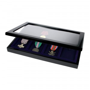 Wooden Case for 8 Medals