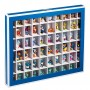Collectors Box with 60 Compartments - Strong Card with viewing window