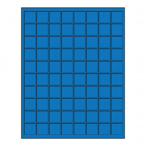 Premium Coin Tray 80 spaces - 17mm