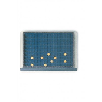 Coin Tray 135 spaces up to 20mm for Black Ash Wooden Cabinet