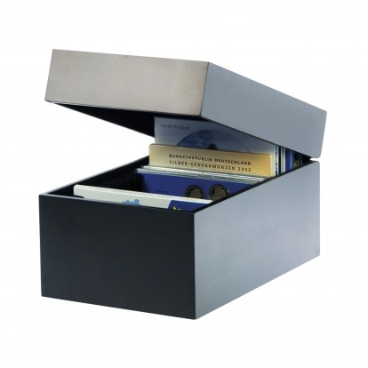 Collectors Black Lacquer Case - for Coin Sets