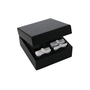 Elegant Wooden Box for Coinholders