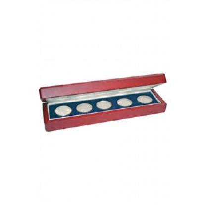 Wooden Coin Case for 5 Coins