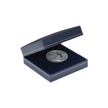Dark Blue Individual Coin Case up to 55mm