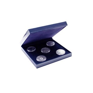 Sq Coin Case with mouldable base