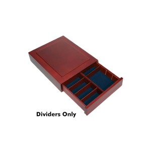 Set of 6 Dividers for Collectors Box