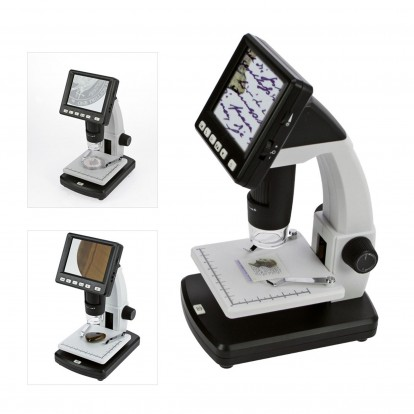 LCD Digital Microscope with 10-500 X magnification