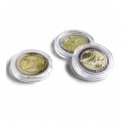 Ultra Coin Capsules Range -Circular and Rimless (from 21-41mm)