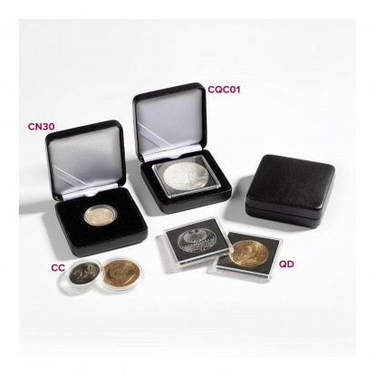 Nobile Single Case for 1 Coin sized from 26.5-28mm in a coin capsule