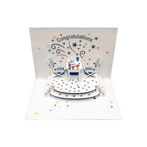 Congratulations -Pop-up Card