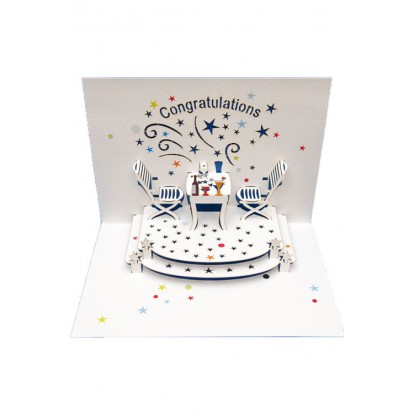Congratulations - Amazing Pop-up Greeting Card
