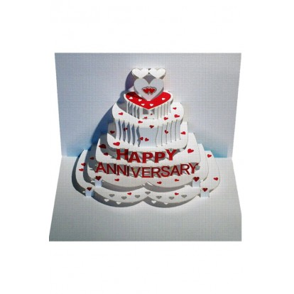 Happy Anniversary - Amazing Pop-up Greeting Card