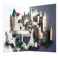 Hogwarts Castle-  Pop-up Card