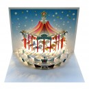 Christmas Carousel Pop-up Card
