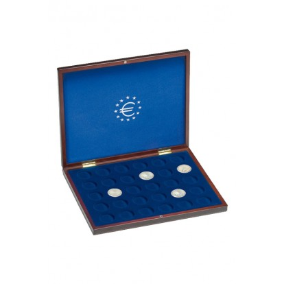 Volterra Single Deluxe Presentation Case for 35 coins up to 28mm