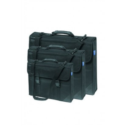 Black Designer Case For Carrying Documents: A3