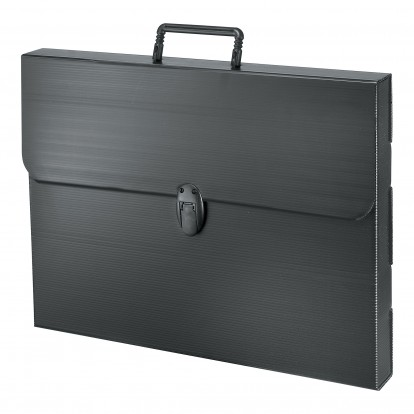 A4 Black Polylite Carrying Case