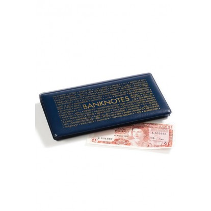 Padded Pocket Banknote Wallet for notes up to 182 x 92mm